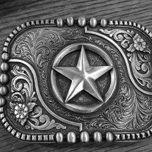 Montana's Silversmith belt buckle